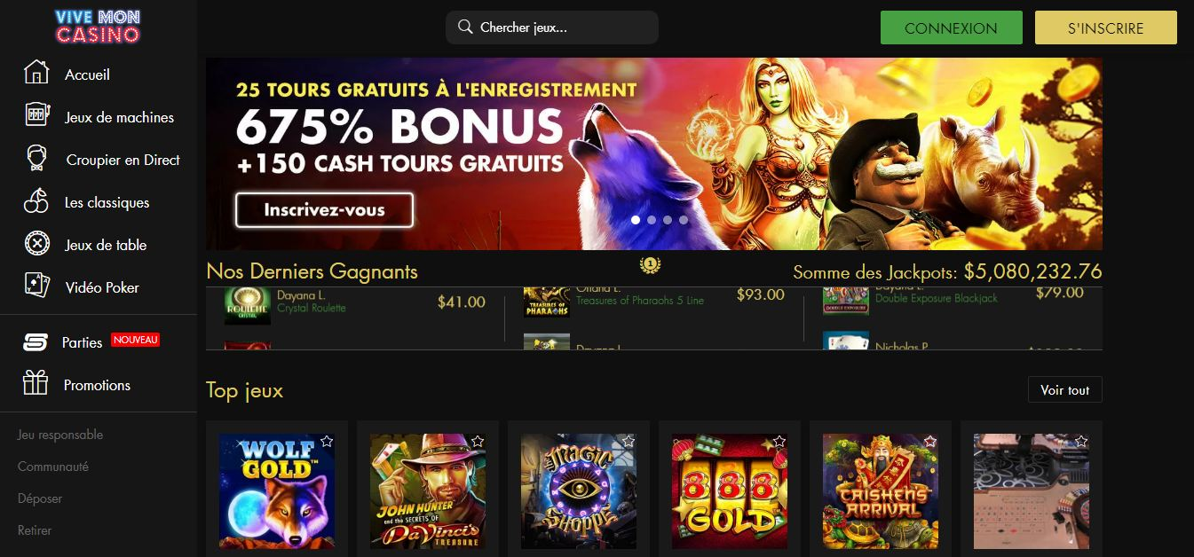 Avis casino ViveMonCasino : faut-il jouer sur ce casino ?