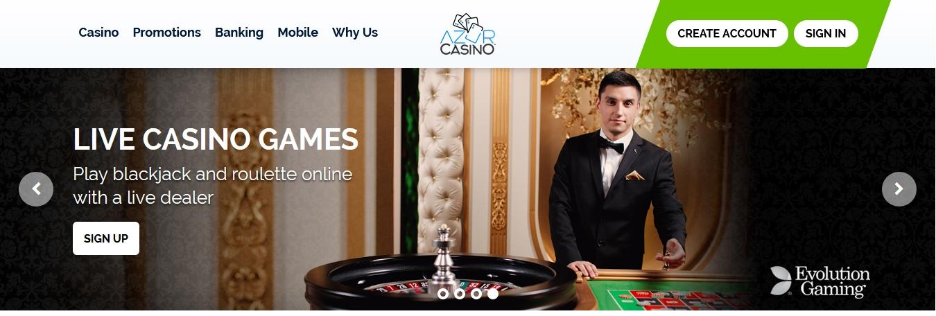 Azur casino avis : nous vous dévoilons tout ce qui concerne ce site